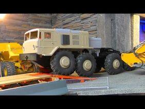 MAZ 537 8×8 TRUCK! HEAVY RC BC8 RUSSIAN TRUCK! RC-CROSS TRUCK
