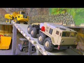 RC MAZ 537 HEAVY DUTY ENGINE! STRONG BC8 MAMMOTH! RC CROSS