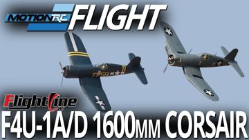 FlightLine RC F4U-1A/D 1600mm Corsair – Flight Review – Motion RC