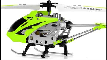 Syma S107G 3 Channel RC Helicopter with Gyro Review