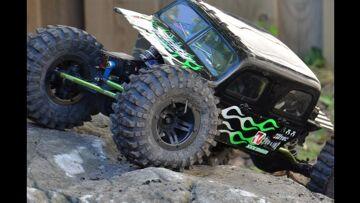 Backyard RC Rock Crawling Action~ Velocity RC Magazine