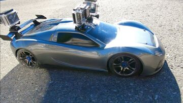RC ADVENTURES – TRAXXAS XO-1 – 3 GoPro Cameras Onboard the SUPER CAR