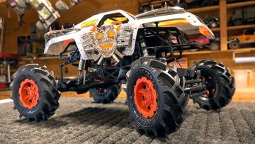 THESE TIRES KICK BUTT! MONSTER MUD 2.8 FLING KINGS – MAX D TRUCK BUILD: AXIALE SMT10 | RC ADVENTURES