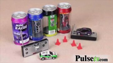 Mini RC Car in A Can (No Frequency Choice)