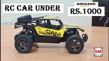 Best RC CAR Under 1000 rupees   1:18 Scale 2.4GHz RC Car Review in Hindi   Shamshad Maker