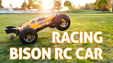 Very Fast 48+ MPH RC Car!! Vkar Racing Bison REVIEW + Giveaway
