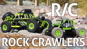 RC Rock Crawlers! WLtoys & JJRC – Examinare