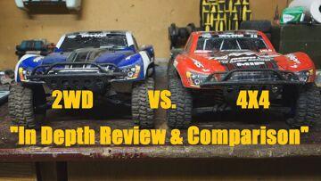 Traxxas Slash 2WD VS. 4×4 Comparison and Review