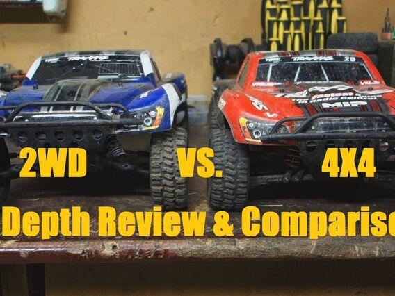 Traxxas Slash 2WD VS. 4×4 Vergleich und Bewertung