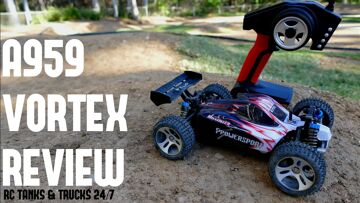 WLTOYS A959 Draaikolk 1/18 2.4G 4WD elektrische RC auto off-road buggy – Volledige beoordeling