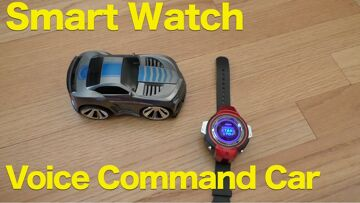 Smart RC Car Smart Watch Voice Control Racer Review (Funny R-101)