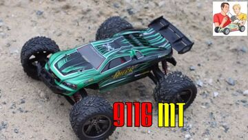 Review of the 9116 1/12 Brushed RC Monster Truck from GeekBuying
