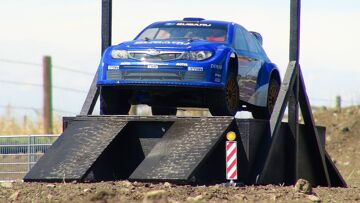 RC ADVENTURES – World Rally Championship Subaru Impreza Car – Kyosho DRXve 4WD 1/9 Scale RC