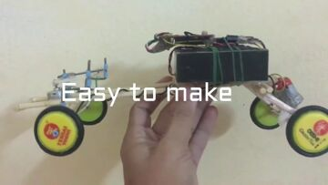 Homemade RC | How to make RC Truck at home easy | RC Truck Review
