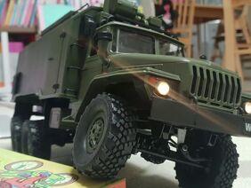 RC CAR WPL B36 Ural 1/16 6WD Militär-LKW RTR REVIEW