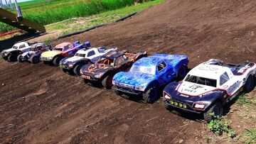 """RC ADVENTURES – """"Little Dirty"""" Canadian Large Scale 4×4 Offroad Race Highlight Reel – Losi 5T"""