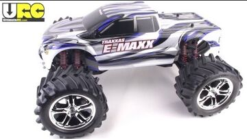 Traxxas E-MAXX RTR brushed edition reviewed