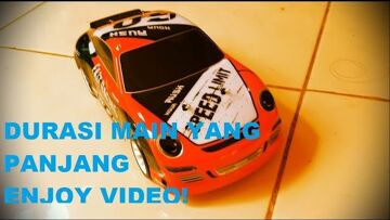 review dan Test drive drift rc car wltoys drift seri A252 skala 1/24 kecil – lubuklinggau Indonesia