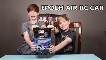 EPOCH AIR RC CAR!  Remote Control Wall Climbing Car Review!