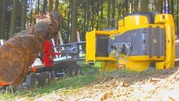 HEAVY RC WHEEL LOADER CRASH! RC CONSTRUCTION FIAL! RC WHEEL LOADER ACCIDENT! RC ACTION FOR KIDS!