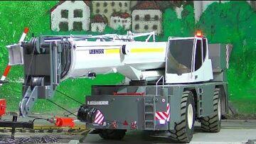 RC LIEBHERR LRT 1100-2.1! UNIQUE RC CRANE TRUCK! FANTASTIC RC MODEL!
