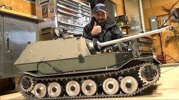 GIANT TANK DESTROYER, 240lbs! FIRE & ICE – Armortek 1/6 Scale   RC ADVENTURES