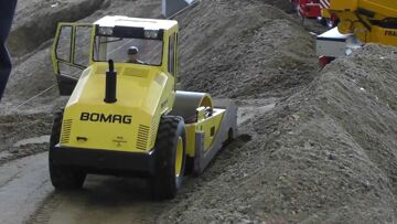 RC BOMAG ROLLER l STRONG RC MACHINES l RC LIVE ACTION TOYS
