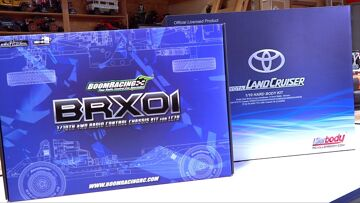 BRX01 BOOM RACING BUILD! TOYOTA LC70 LAND CRUISER TRUCK Eps 1 – UNBOXING   RC ADVENTURES