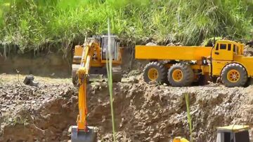 CONSTRUCTION SITE l RC MACHINERY WORK l RC  CONSTUCTION ZONE