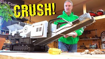 YouTube GOLD 2019 – MOBiLE MiNi ROCK CRUSHER! Build & Pulverize Rocks for FIRST TIME   RC ADVENTURES