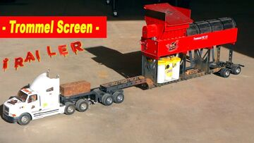 """WELDING """"LITTLE RED"""" – our NEW """"YouTube GOLD"""" Mobile STEEL Trommel Trailer   RC ADVENTURES"""