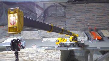 MOBILE CRANE – RC LIEBHEER LTM 1055 L  BIG RC CRANE !