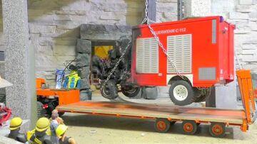 HEAVY ACCIDENT – HEAVY LIPO EXPLOSION- RC FIRE TRUCK!