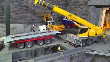 RC CRANE LTM 1055 – AMAZING  RC LIEBHERR LTM 1055!!!