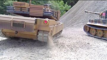 RC Tank Action! Cool RC Tunks in Motion! Amazing Abrams and Tiger1!