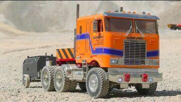 RC trucks! RC machines! RC equipment! RC toys for big boys! RC action