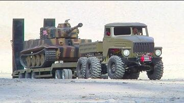 RC TIGERS IN ACTION! TORRO TIGER 1! COOL RC TANKS! RC MILITARY VEHICLES! HENG LONG TANKS