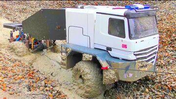 RC Spintires! Coole RC Action with the MAZ 537! New RC Buffalo Truck! Incrível PARTE DE RESGATE DO HOMEM 2