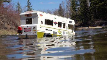 "Family Camper Goes too Deep – ""Indian"" Winnebago Tonka Truck Conversion | RC AVENTURI"