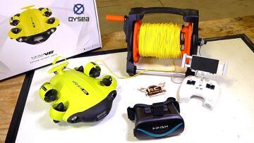 Unboxing een TREASURE HUNTER! QYSEA FiFish V6 ROBOTIC 4K CAMERA SUB | RC AVONTUREN