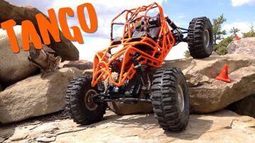 "AMAZING REAR-Steer ""TANGO""'s Spider-Like movement across the Backyard Pile | RC ADVENTURES"