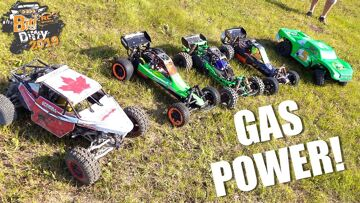 """2019 """"BiG DIRTY"""" – Canadian Large Scale Offroad Race Highlight Reel (Dio 1) 