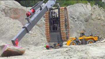 RC TRUCK FAIL 2019!HEAVY RC TRUCKS CRASHES! CONSTRUCTION MACHINES ACCIDENT! RC VEHICLES CRASH