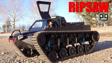"""GRAND TOUR """"RIPSAW"""" 1/10th SCALE LUXURY SUPER TANK 