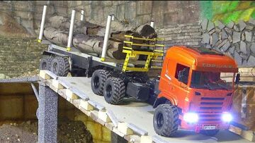 RC SCANIA R560 AGRAR! NEW RC TRUCK 2020! STRONG TRUCK 6X6 WORK HARD!