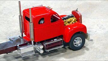 RC ПРИКЛЮЧЕНИЯ – Classic 1960's B Series MACK Semi Truck Gets an UPGRADE!