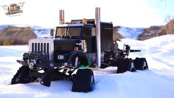 PRZYGODY RC – HD OVERKiLL – 6WD Tracks, 5 Silniki, 5 ESC's, PURE POWER SEMi TRUCK