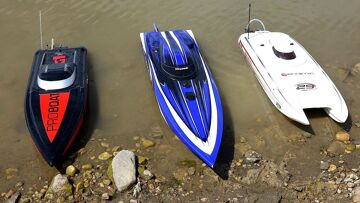 RC ADVENTURES – 3 Speed Boats & Full Scale Recovery – Impulse 31, Spartan, Mystic 29
