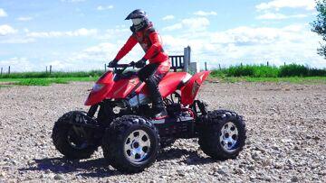 RC 冒险 – 6s 利波, 1/8第1次规模ATV四 – HPi 萨维奇通量惠普怪物卡车 4×4 (布赖恩·迪根)