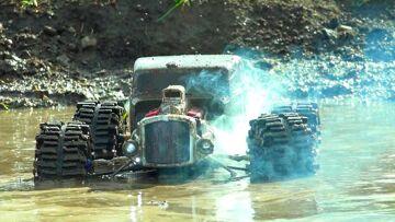 RC ADVENTURES – SMOKE SHOW! Motor Blows – Monster Grim Reaper 4×4 Ratrod Traxxas Summit